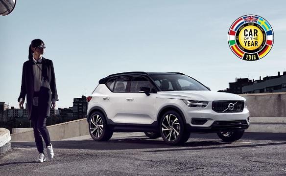 Volvo xc40 lue voiture de l 39 ann e garages et centre d for Achat voiture garage dans le centre