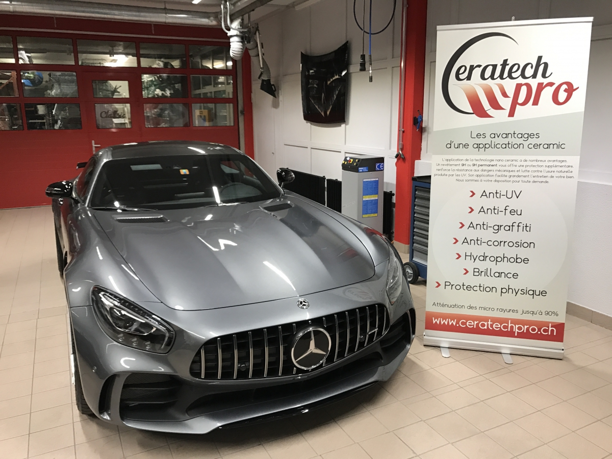 Mercedes AMG GT-R carrosserie